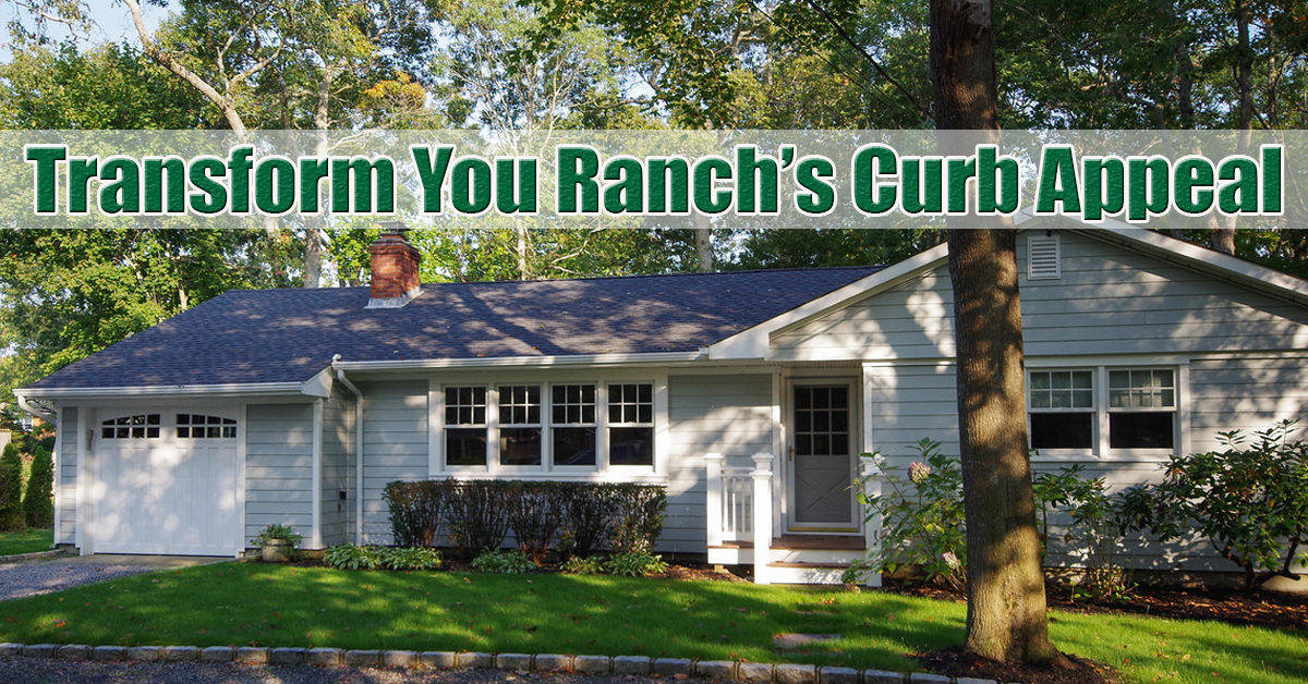 How to increase the curb appeal of your long island ranch for How to add curb appeal to a ranch style house