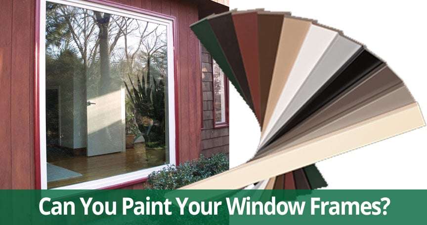 Can You Paint Your Replacement Windows on Long Island?