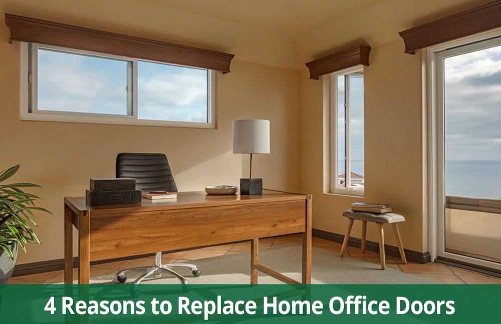 Improve Your Home Office by Installing New Patio Doors